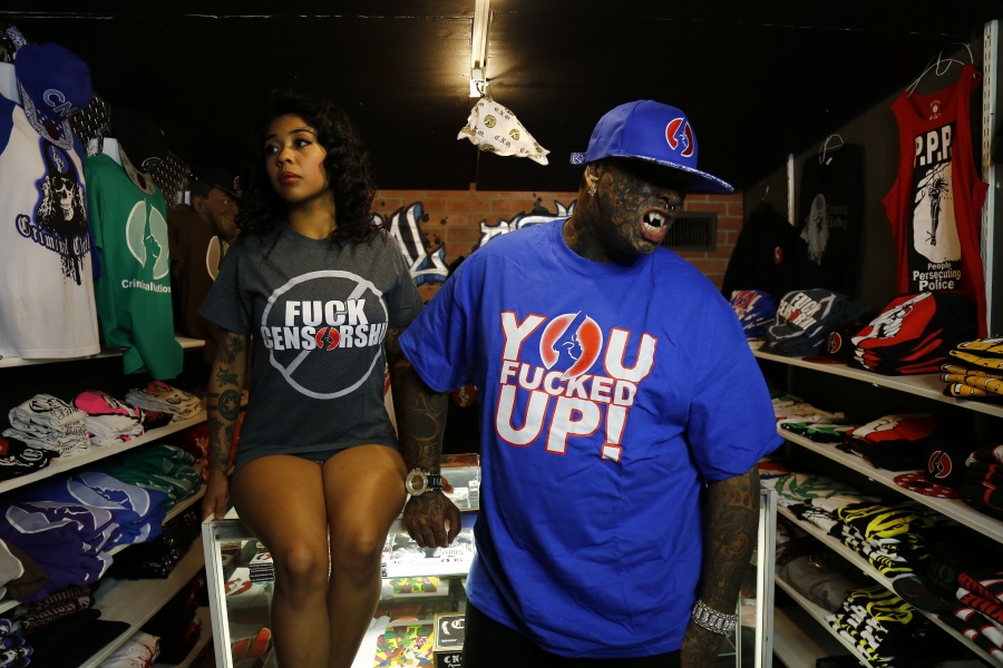 Fuck Censorship Shirt - You Fucked Up Shirt - Blue and Red CNO Hat